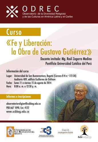 Afiche Fe y liberación