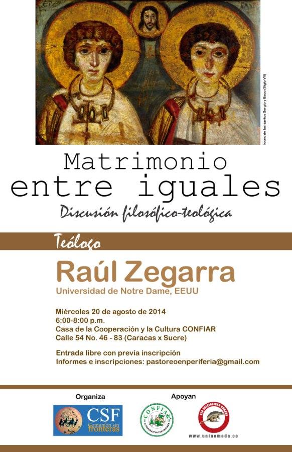 Afiche-Zegarra-Matrimonio entre iguales
