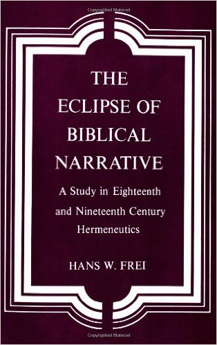 the eclipse of biblical narrative